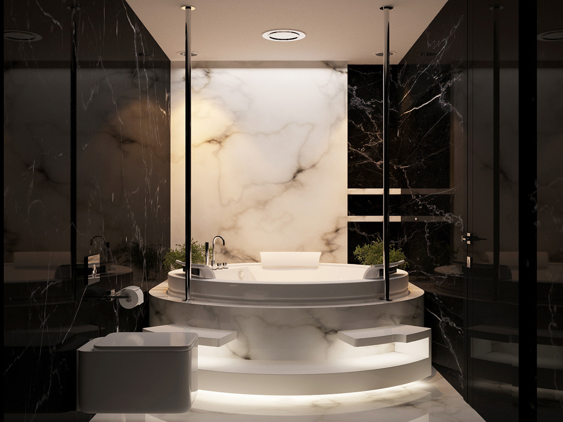 The Luxury Bathroom Interior Design You Need to Tune In! 6