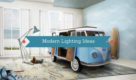 Modern Lighting Ideas_ The Ideal Light For a Children Room Design!