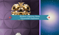 Modern Lighting Ideas_ Ultraviolet Explosion In Your Home Decor!