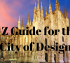 city of design The A-Z Guide For a Good Stay in the City of Design! The A Z Guide For a Good Stay in the City of Design 16 100x90