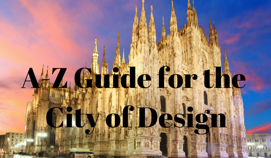 city of design The A-Z Guide For a Good Stay in the City of Design! The A Z Guide For a Good Stay in the City of Design 16