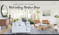 Mid-Century Modern Home Interior Design Inspirations: How To Get A Mid-Century Modern Home caoa 234x141