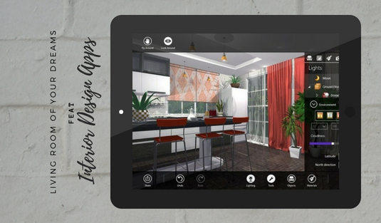The Living Room of Your Dreams Feat These Interior Design Apps