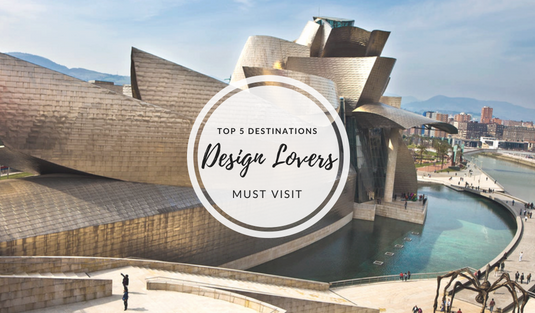 Design Lovers Top 5 Destinations Design Lovers Must Visit capa 3