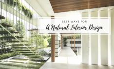 natural interior design Best Ways For A Natural Interior Design capa A Natural Interior Design 234x141