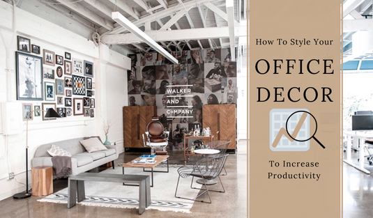 office decor How To Style Your Office Decor In Order To Increase Productivity capa 20