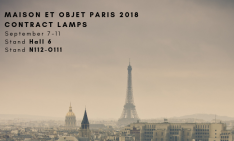 contract lamps Maison et Objet 2018 Contract Lamps To Look For Maison et Objet 2018 1 234x141