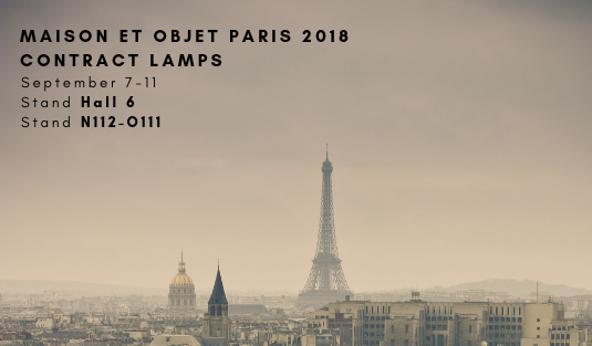 contract lamps Maison et Objet 2018 Contract Lamps To Look For Maison et Objet 2018 1