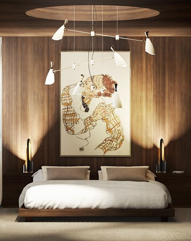 Get Comfortable And Check These 6 Bedroom Trends For 2019 bedroom trends, lighting, mid-century style, mid-century piece, trend, home design ideas, decor, modern home, suspension lamp, inspiration, bedroom, trends bedroom trends Get Comfortable And Check These 6 Bedroom Trends For 2019 Webp