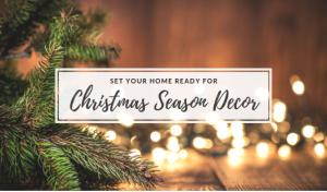 Set Your Home Ready For Christmas Season Decor
