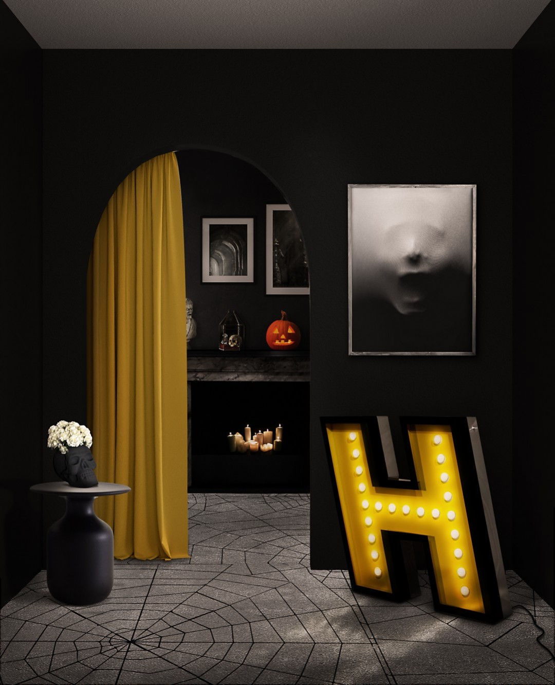 Do You Know How To Style Tour Home For Halloween Season 3