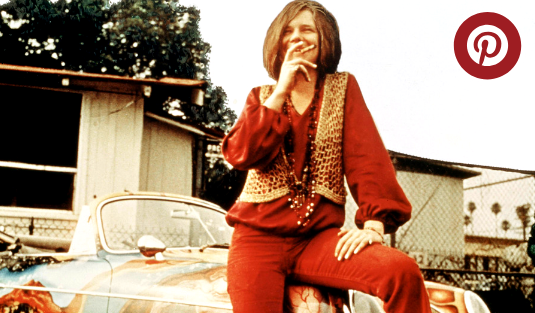 Janis Joplin What's Hot On Pinterest: Janis Joplin Edition capa 4