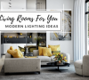 modern lighting ideas Modern Lighting Ideas: Living Rooms To Brighten Up Your Home! Modern Lighting Ideas Living Rooms To Brighten Up Your Home 100x90
