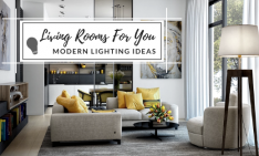 modern lighting ideas Modern Lighting Ideas: Living Rooms To Brighten Up Your Home! Modern Lighting Ideas Living Rooms To Brighten Up Your Home 234x141