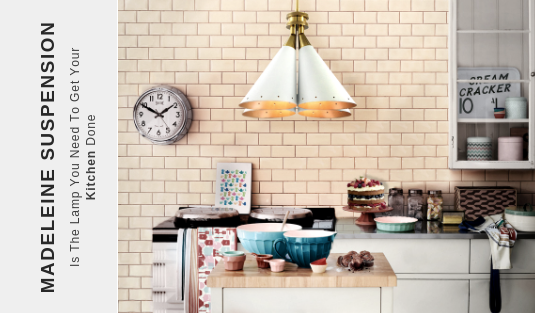 Madeleine Suspension Madeleine Suspension Is The Lamp You Need To Get Your Kitchen Done capa 1
