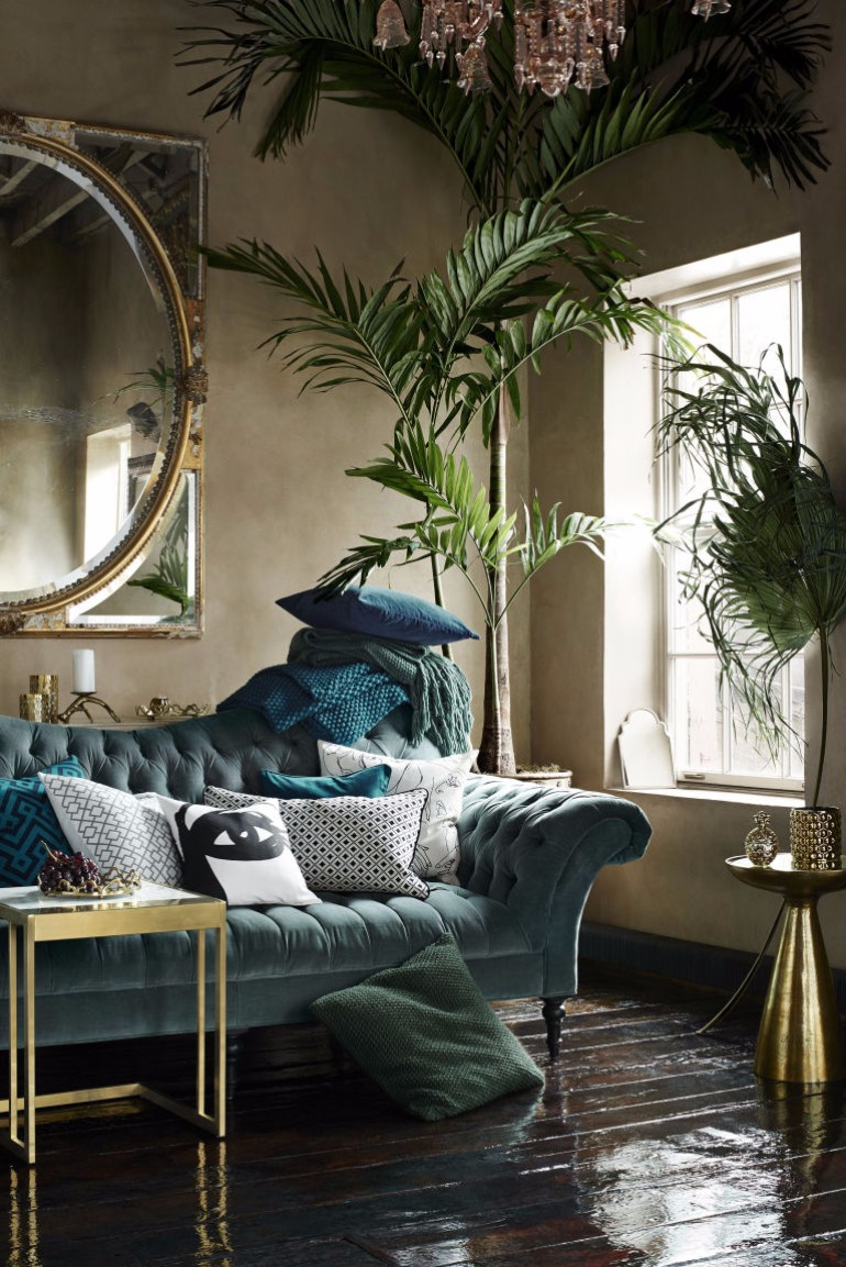 Living Room Decor Inspired Look How To Style A Pile of Pillows 2