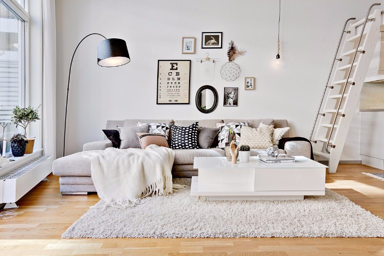 Living Room Decor Inspired Look How To Style A Pile of Pillows 5