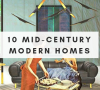 mid-century modern homes Your New Favorites: 10 Mid-Century Modern Homes by Renowned Architects Your New Favorites 10 Mid Century Modern Homes by Renowned Architects 21 100x90