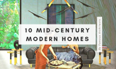 mid-century modern homes Your New Favorites: 10 Mid-Century Modern Homes by Renowned Architects Your New Favorites 10 Mid Century Modern Homes by Renowned Architects 21 234x141