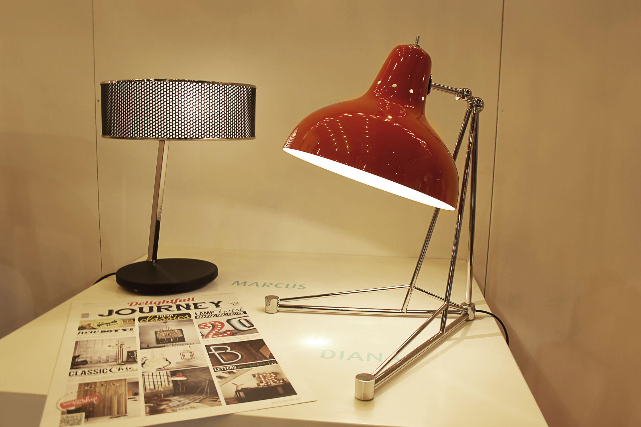 What's Hot On Pinterest Mid-Century Table Lamps For Your Loft 10