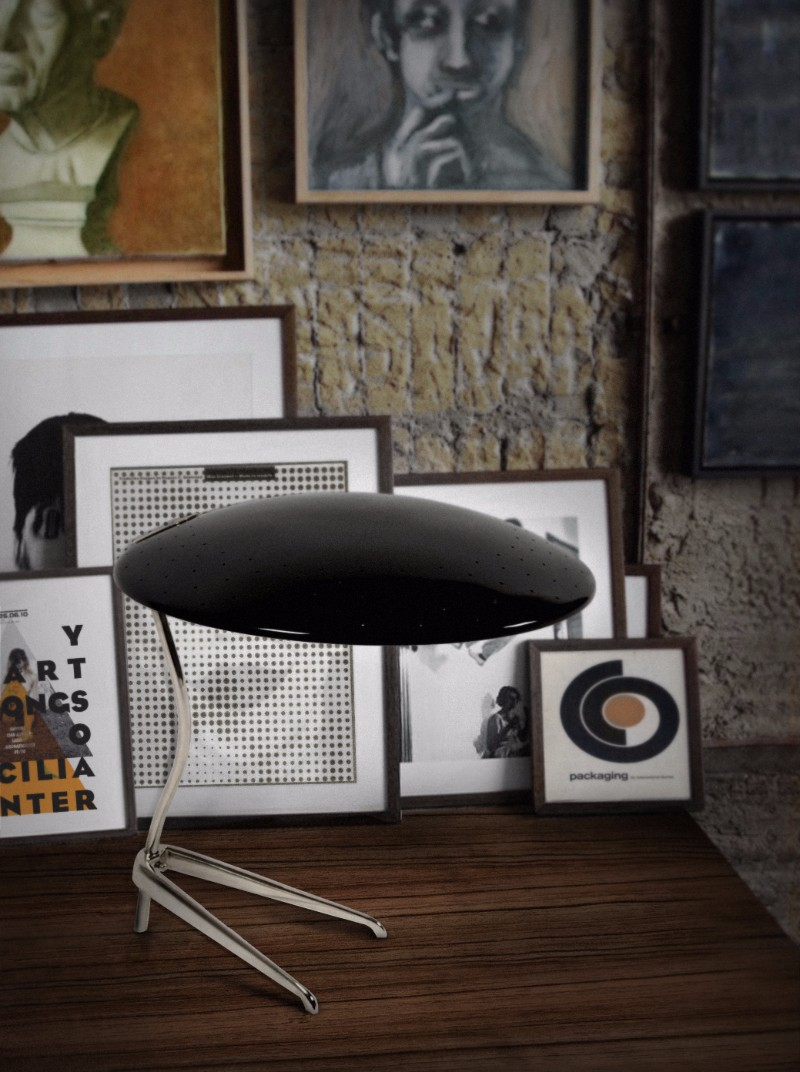 What's Hot On Pinterest Mid-Century Table Lamps For Your Loft 13