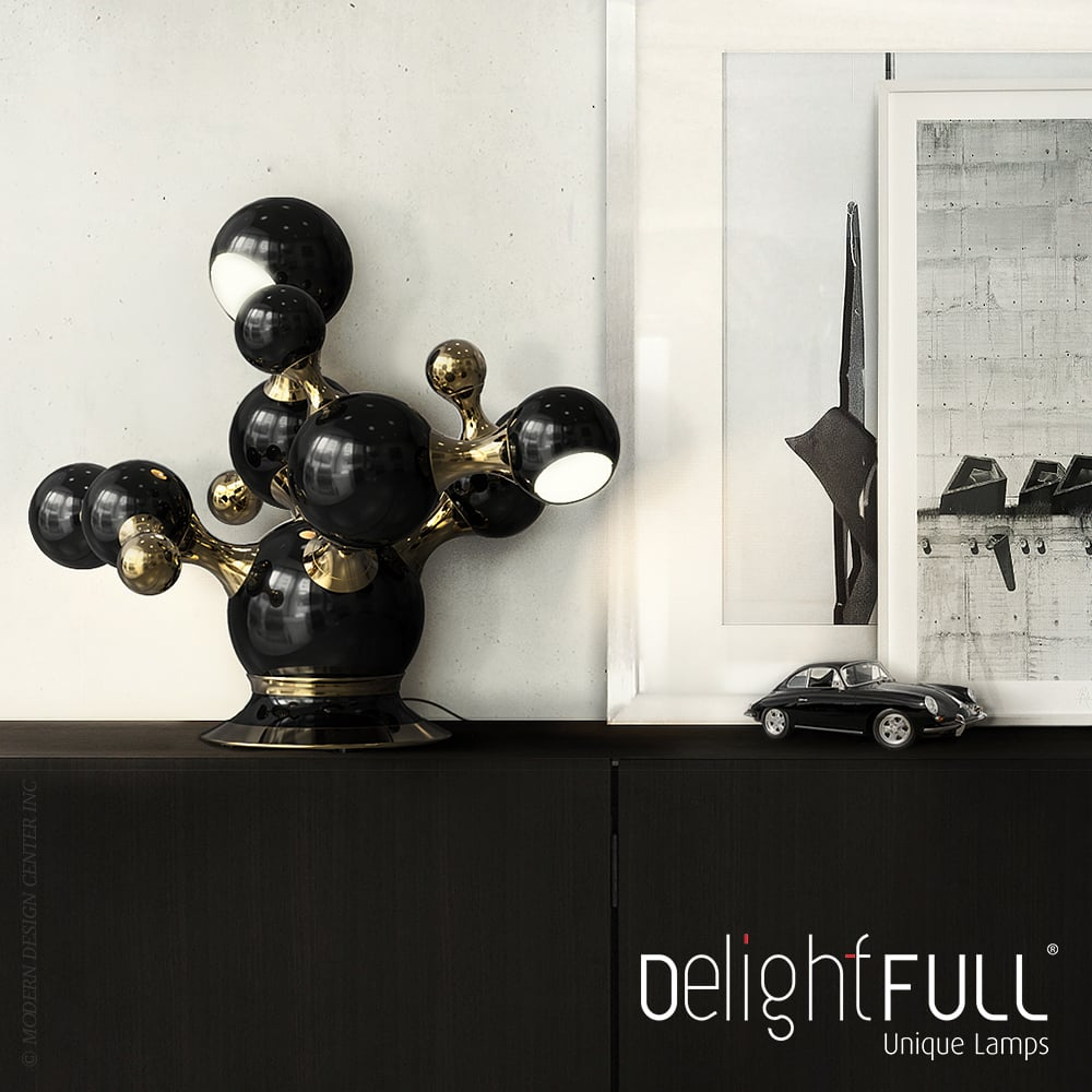 What's Hot On Pinterest Mid-Century Table Lamps For Your Loft 3