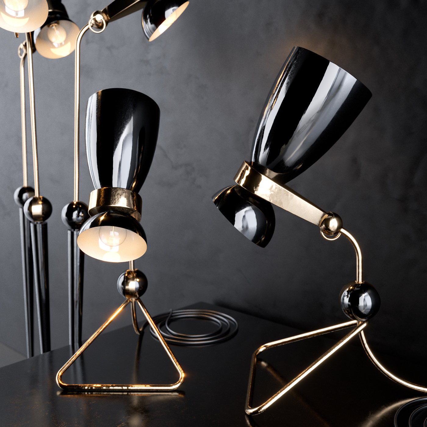 What's Hot On Pinterest Mid-Century Table Lamps For Your Loft