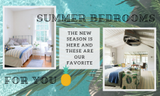 The New Season Is Here And These Are Our Favorite Summer Bedrooms 8 summer bedrooms The New Season Is Here And These Are Our Favorite Summer Bedrooms The New Season Is Here And These Are Our Favorite Summer Bedrooms 8 234x141