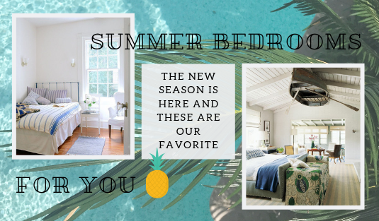 The New Season Is Here And These Are Our Favorite Summer Bedrooms 8 summer bedrooms The New Season Is Here And These Are Our Favorite Summer Bedrooms The New Season Is Here And These Are Our Favorite Summer Bedrooms 8