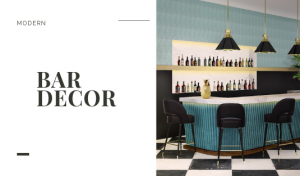 It's Time To Upgadre Your Modern Bar Decor