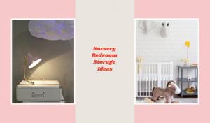 Clever & Pretty Nursery Baby Storage Ideas F/ Fall