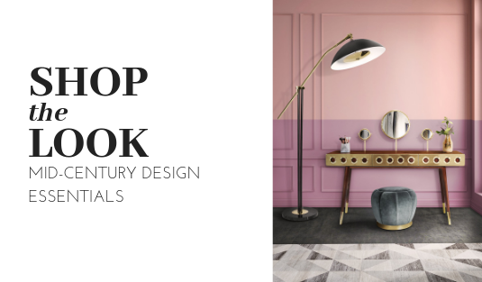 mid-century design Shop The Look: Mid-Century Design Essentials shop