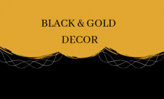 Black & Gold_ The Most Glamorous Mid-Century Combination glamorous mid-century combination Black & Gold: The Most Glamorous Mid-Century Combination Black Gold  The Most Glamorous Mid Century Combination 234x141