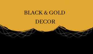 Black & Gold: The Most Glamorous Mid-Century Combination