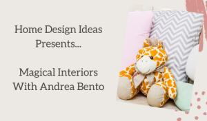 Andrea Bento Has A Magical Experience in Children Bedroom Decor