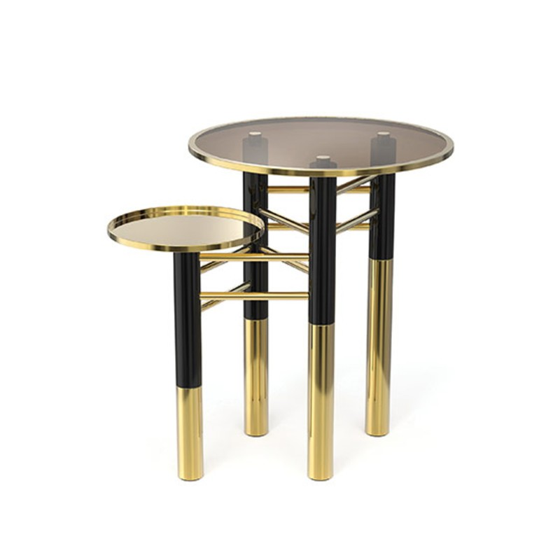 kathryn levitt design See Kathryn Levitt Design's Famous Luxury Design Apartment konstantin side table detail 01
