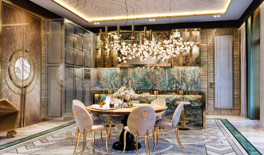 Step Inside Elena Krylova's Ultra-Luxury Design Project And Steal The Look! elena krylova Step Inside Elena Krylova's Ultra-Luxury Design Project And Steal The Look! Step Inside Elena Krylovas Ultra Luxury Dining Area Design And Steal The Look capa 1