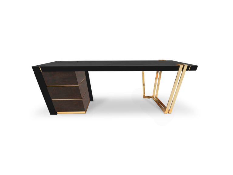 The 12 Luxury Desks That You'll Love In Your Home Office_2 luxury desks The 12 Luxury Desks That You'll Love In Your Home Office The 12 Luxury Desks That Youll Love In Your Home Office 2
