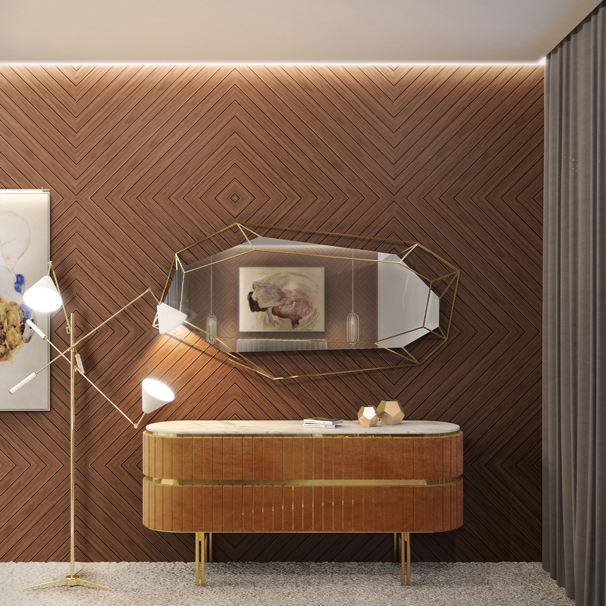 Top 25 Luxury Mirrors That Will Enhance Your Home_2 luxury mirrors Top 20 Luxury Mirrors That Will Enhance Your Home Top 25 Luxury Mirrors That Will Enhance Your Home 2