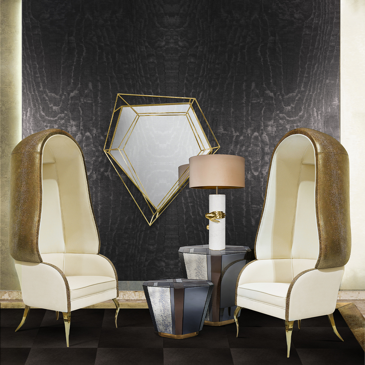 Top 25 Luxury Mirrors That Will Enhance Your Home_3 luxury mirrors Top 20 Luxury Mirrors That Will Enhance Your Home Top 25 Luxury Mirrors That Will Enhance Your Home 3