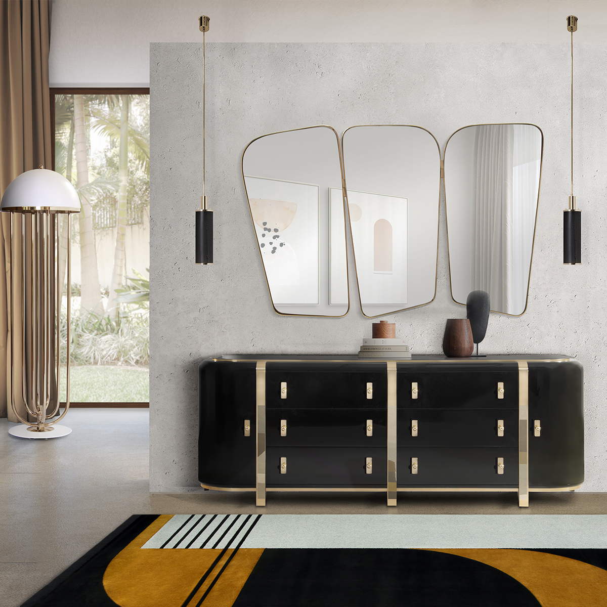 Top 25 Luxury Mirrors That Will Enhance Your Home_4 luxury mirrors Top 20 Luxury Mirrors That Will Enhance Your Home Top 25 Luxury Mirrors That Will Enhance Your Home 4