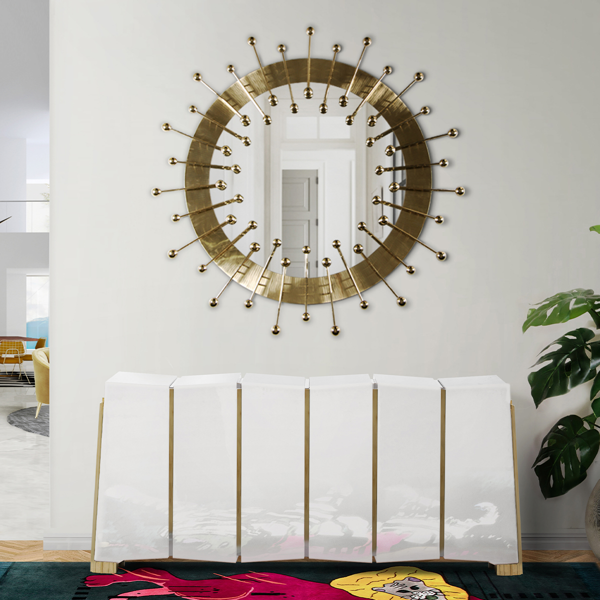 Top 25 Luxury Mirrors That Will Enhance Your Home_5 luxury mirrors Top 20 Luxury Mirrors That Will Enhance Your Home Top 25 Luxury Mirrors That Will Enhance Your Home 5