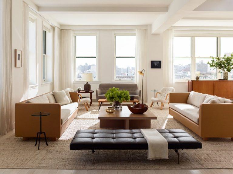 Two Iconic Interior Design Projects by Neal Beckstedt Studio in NYC_5